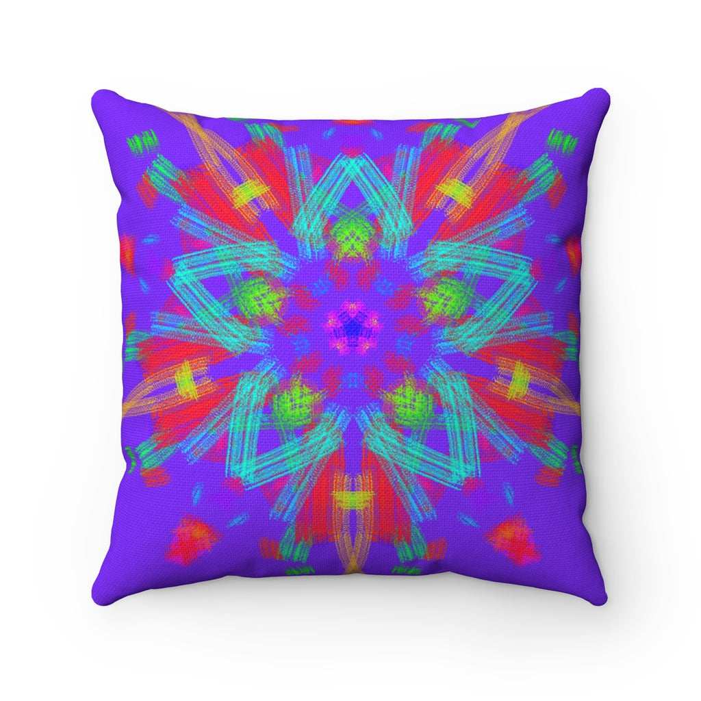 Spun Polyester Square Pillow - goifts - Remlor Art