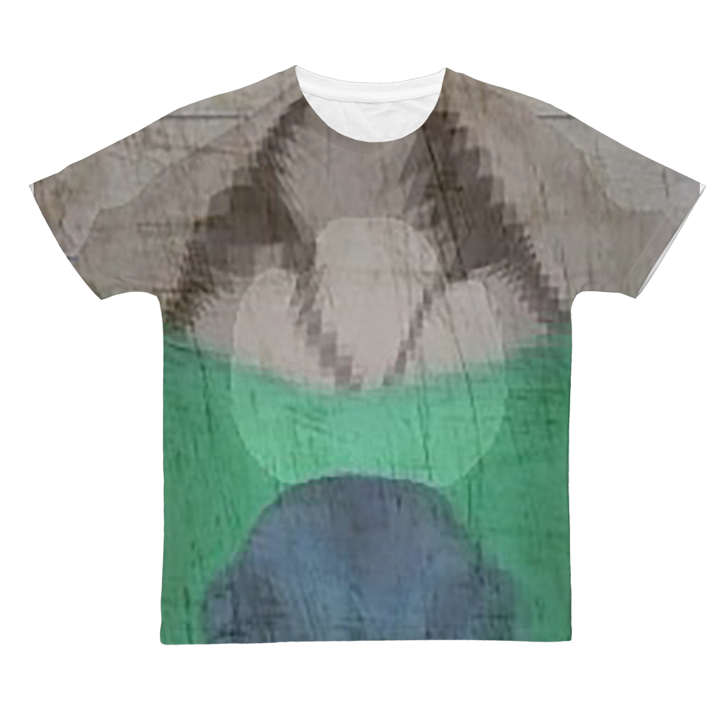 Adult T-Shirt - Scathed Reality Classic Sublimation | A Pattern - Created by @remlor - Remlor Art