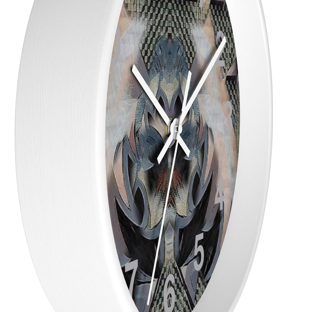 Wall clock - None Have Ever | A Pattern Designed by @remlor - Remlor Art