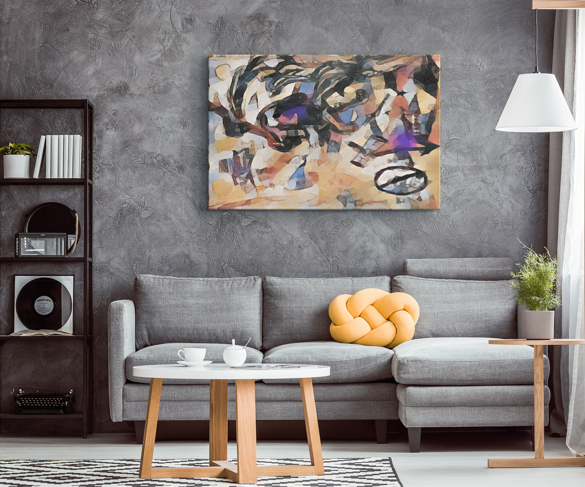 inonitself - Canvas print - designed by @remlor - Remlor Art