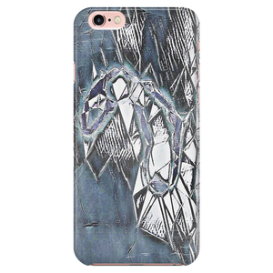 Never let u let me go, - Psychedelic Phone Case Designed by @remlor - Remlor Art