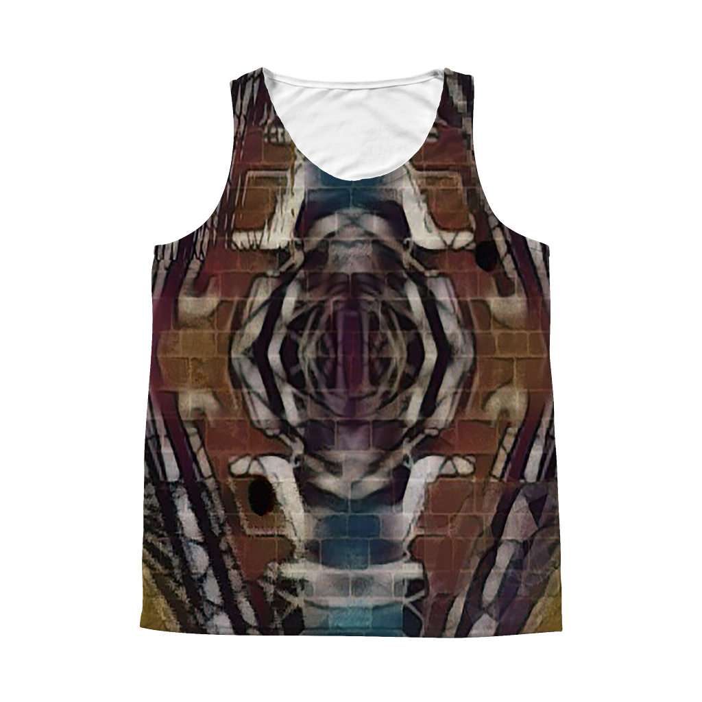 4thdimentionalwall - Tank Top - Remlor Art