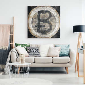 PaleBTC - Canvas print - designed by @remlor - Remlor Art