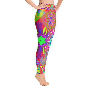Yoga Leggings - Inter Connecting KaleidZ | A Pattern designed by @remlor - Remlor Art