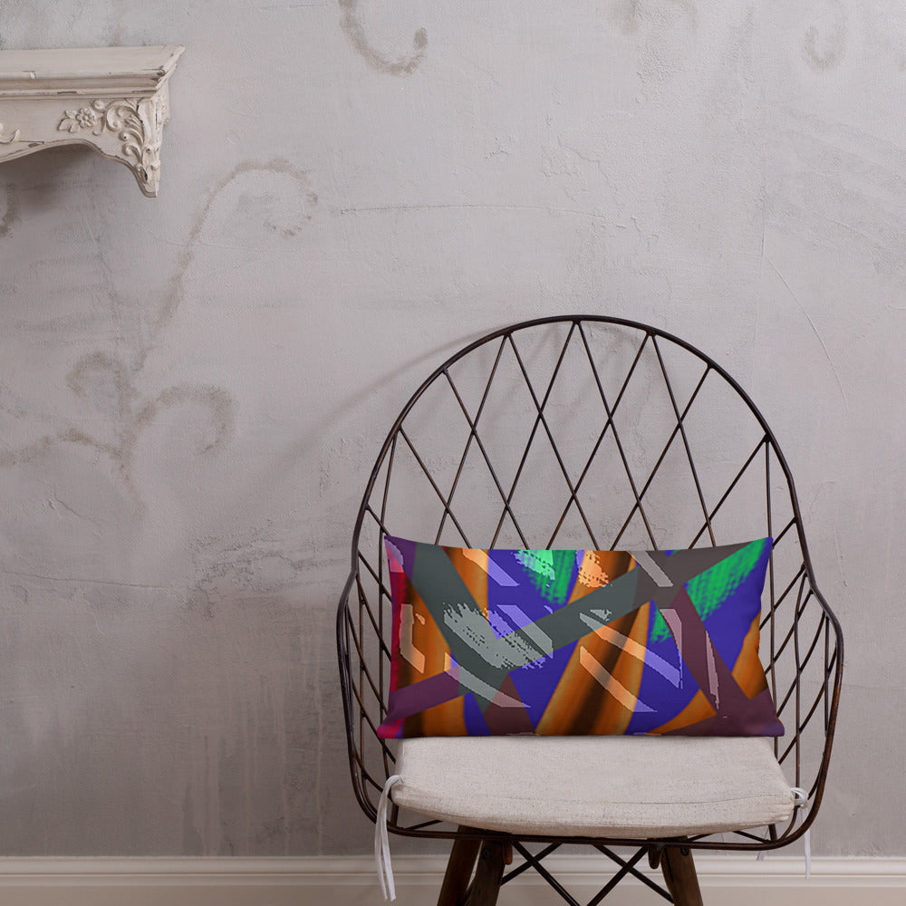 Premium Pillow - At the rim | A Pattern Designed by @remlor - Remlor Art