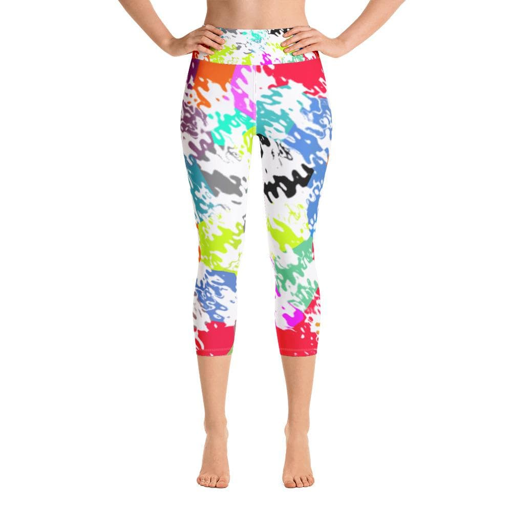 trippy art leggings women