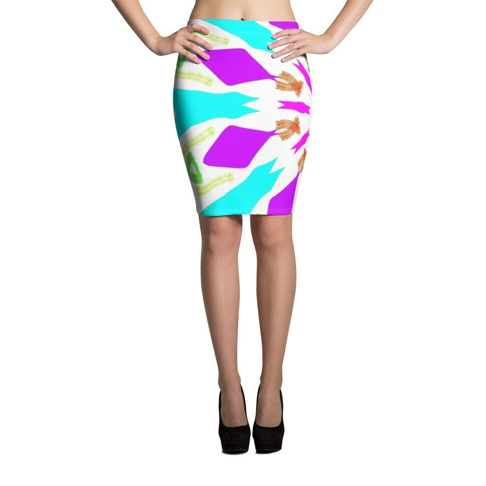 The Bargaining Chips - Pencil Skirt | A Pattern Designed  by @remlor - Remlor Art