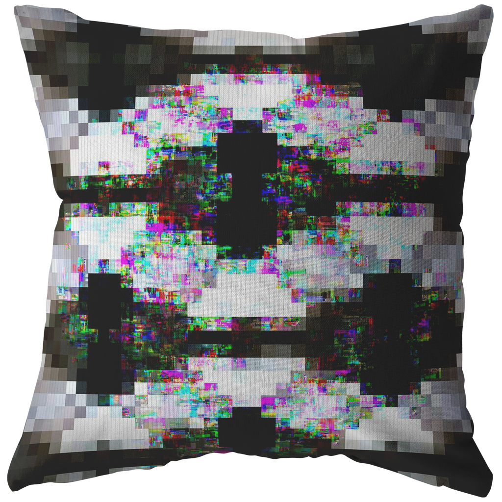 Into Device - Pillow - Remlor Art