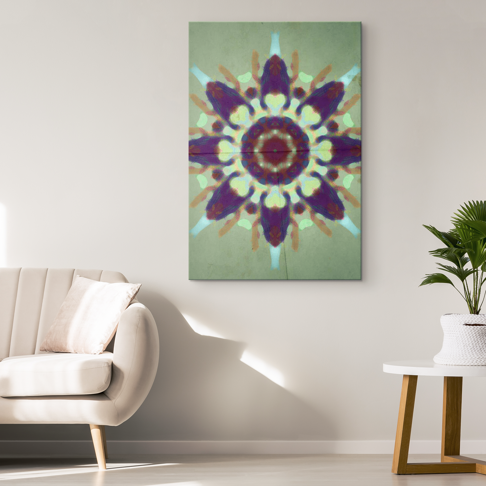 Canvas Art - The lay down effect silent treatment | A Pattern Designed by @remlor - Remlor Art