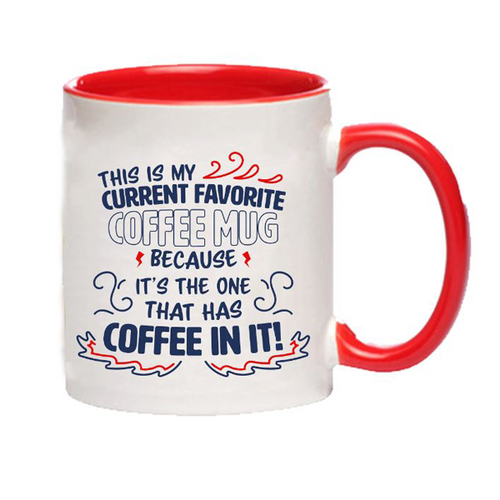 Carlin Brothers Coffee favorite coffee mug