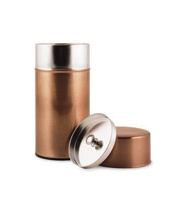 Copper Tea Tin