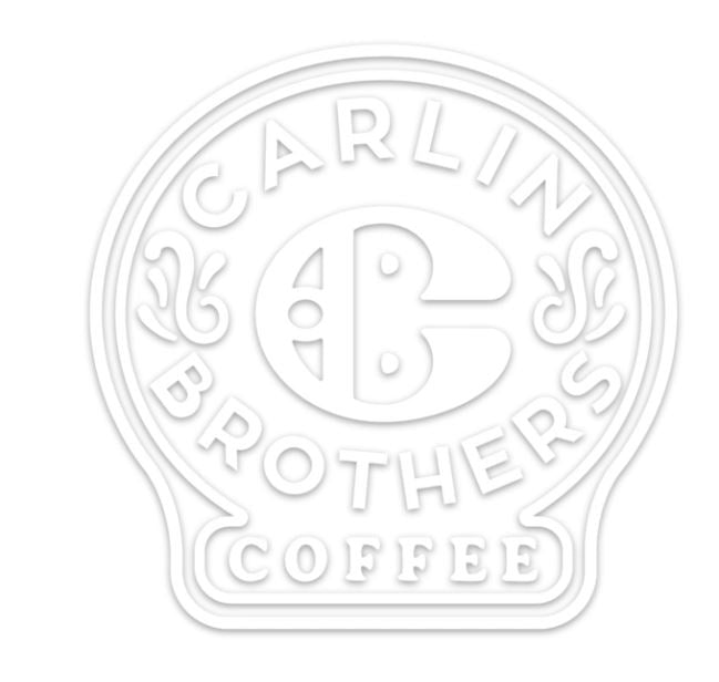 Carlin Brothers Coffee Logo Vinyl Sticker