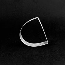 Load image into Gallery viewer, Detail of MOON bracelet in silver 925