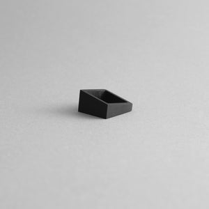 MK3 ASYMMETRIC RING in BLACK + MK3 ASYMMETRIC RING in GREY