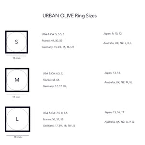 Ring sizes guide