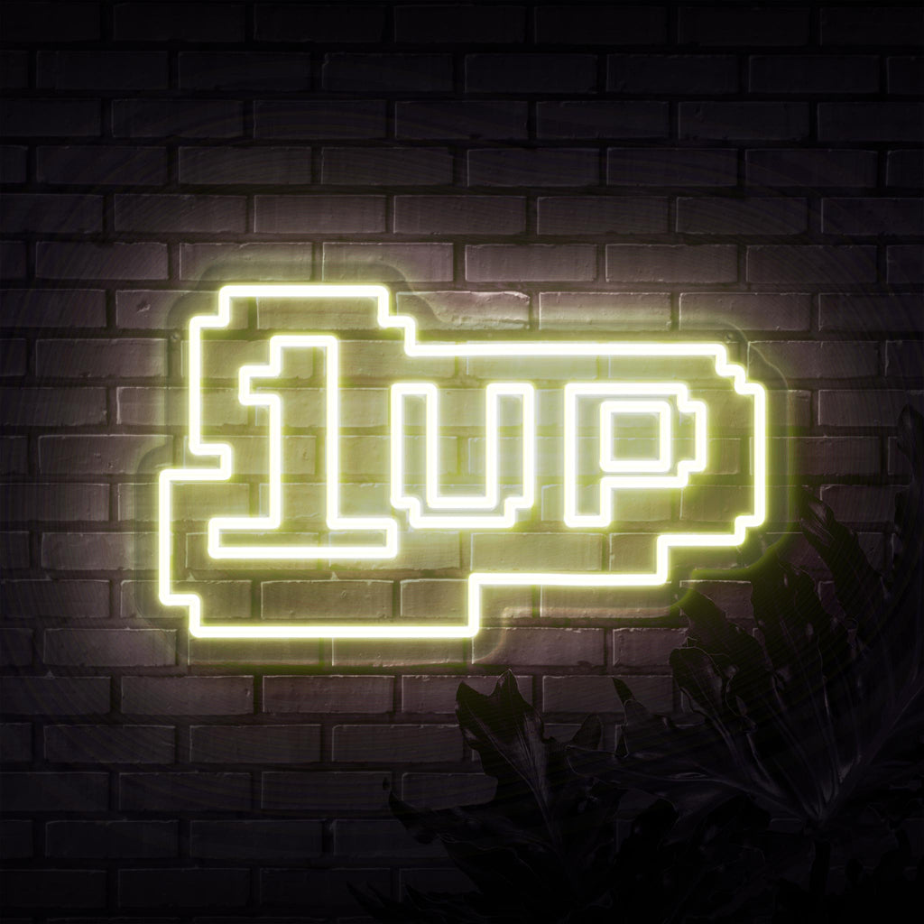 1 Up Neon Sign