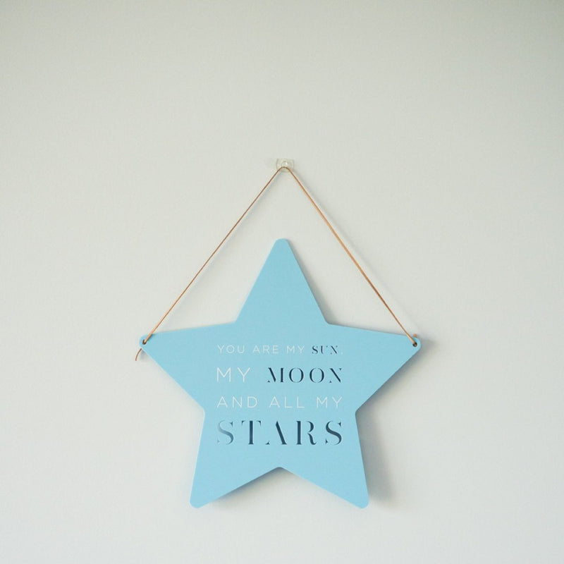All My Stars Plaque