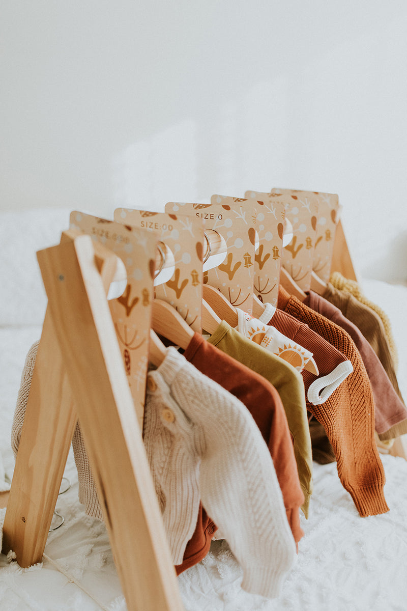 Timber Clothes Dividers