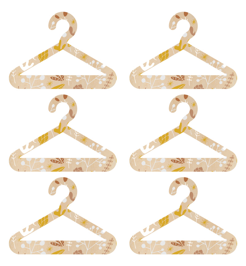 Timber Coat Hangers (Set)
