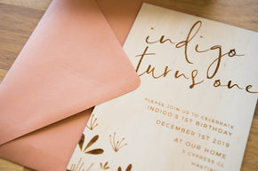 Timber Invites