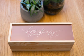 Mother's Day Wine Box