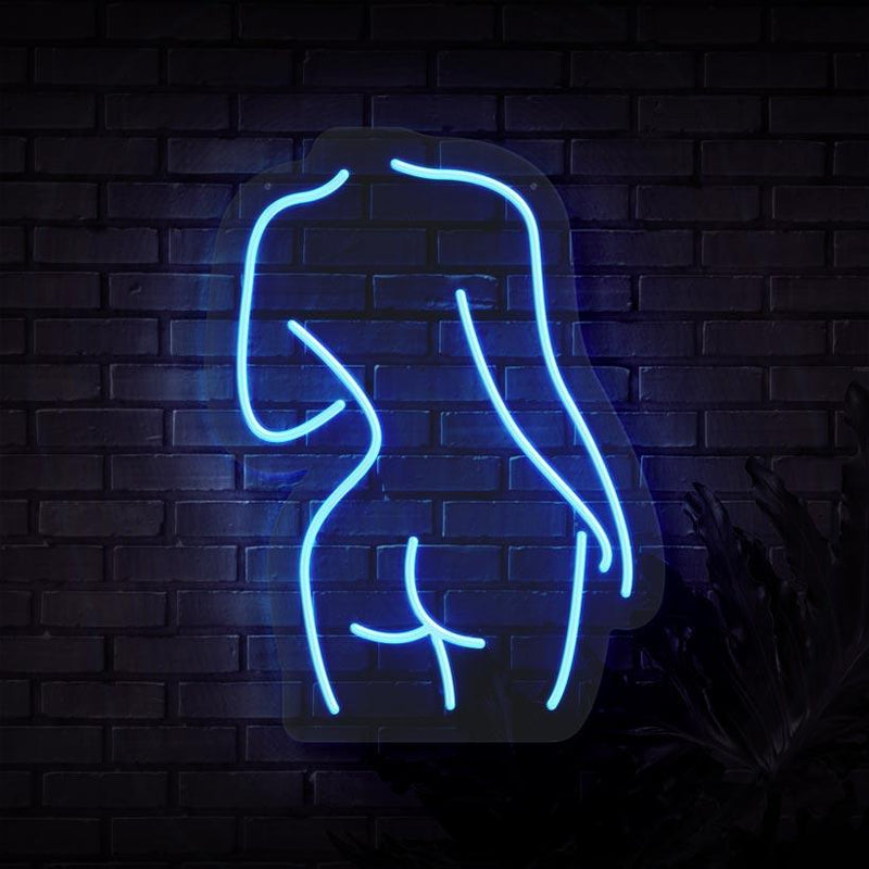 Female Body Neon Sign