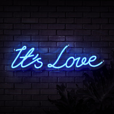 It's Love Neon Sign
