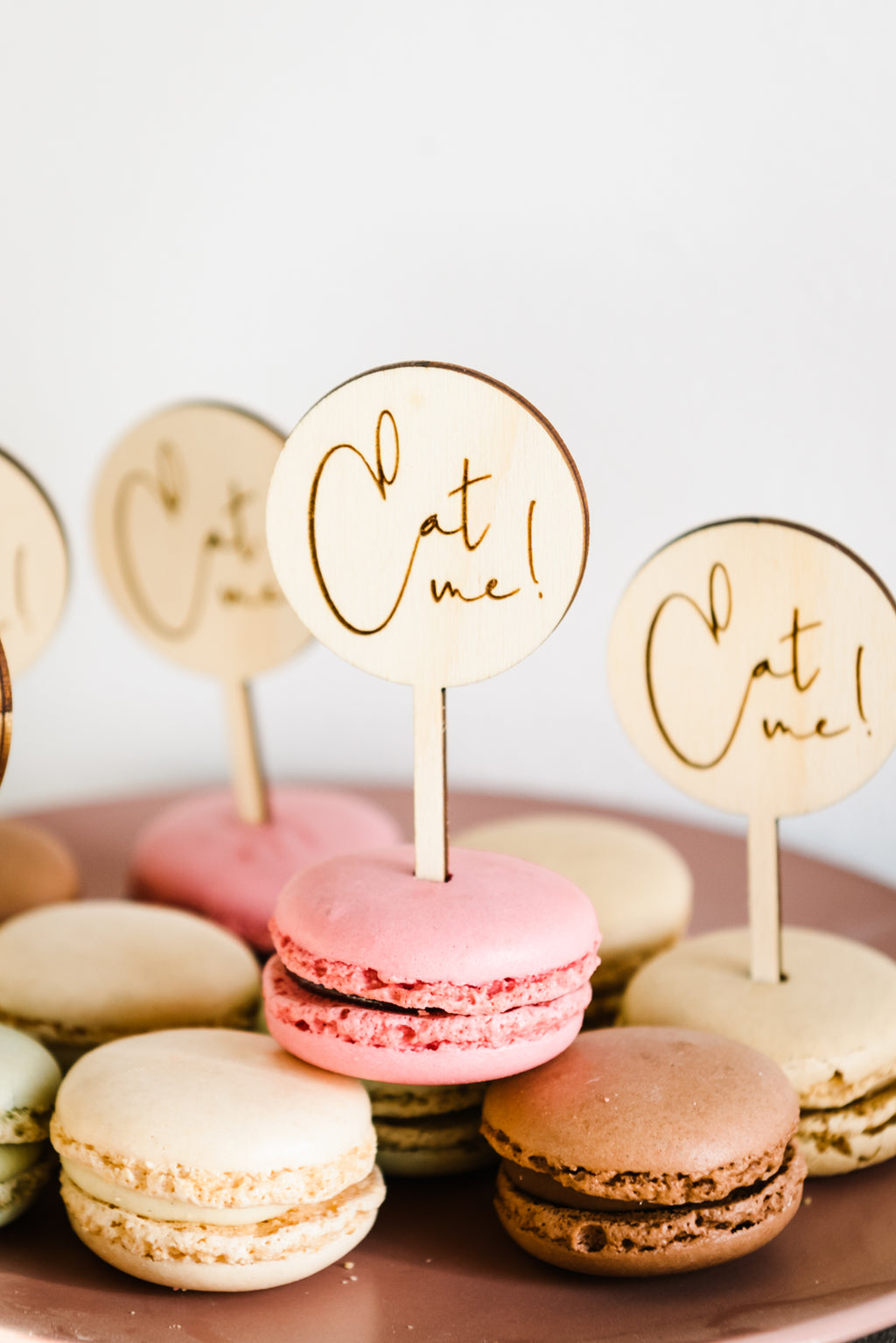 Timber Cupcake Toppers