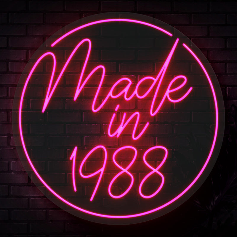 Made in Neon Sign