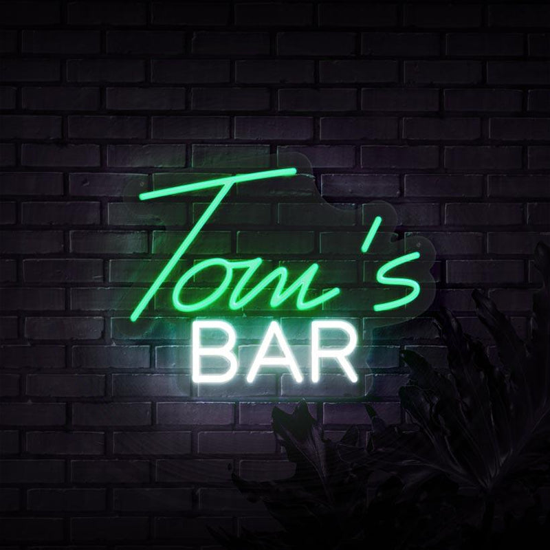 Personalized Bar Neon Sign