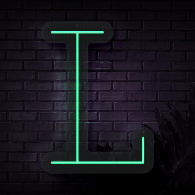 Personalized Initial Letter L Neon Sign