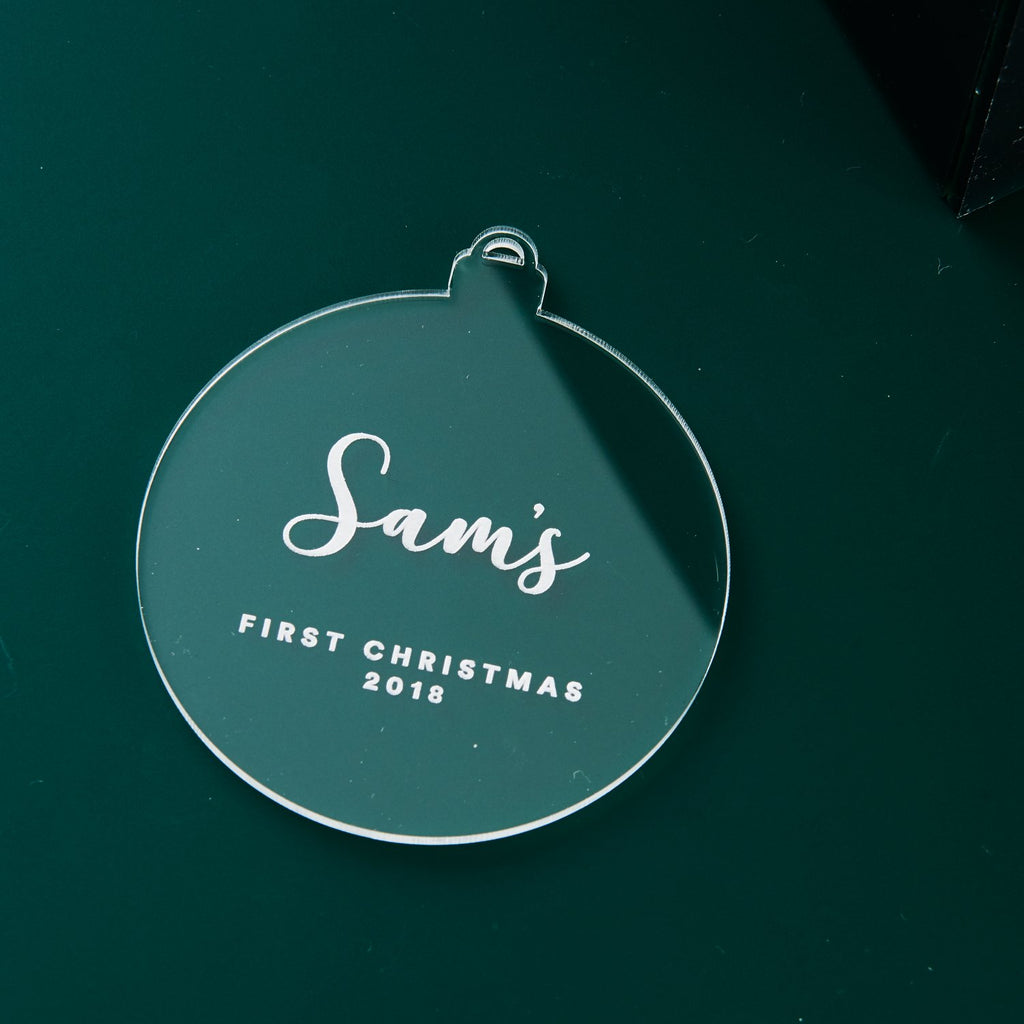 Christmas Classics 1st Christmas Ornament