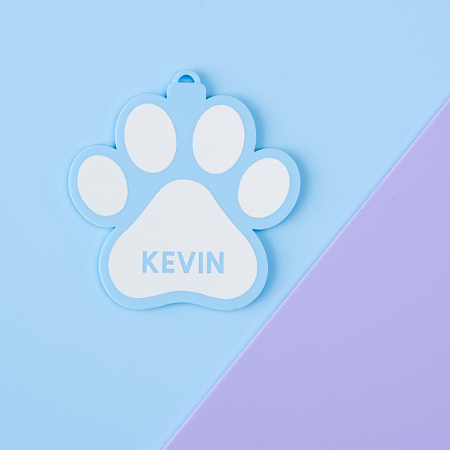 Playful Pastels Pet Ornament