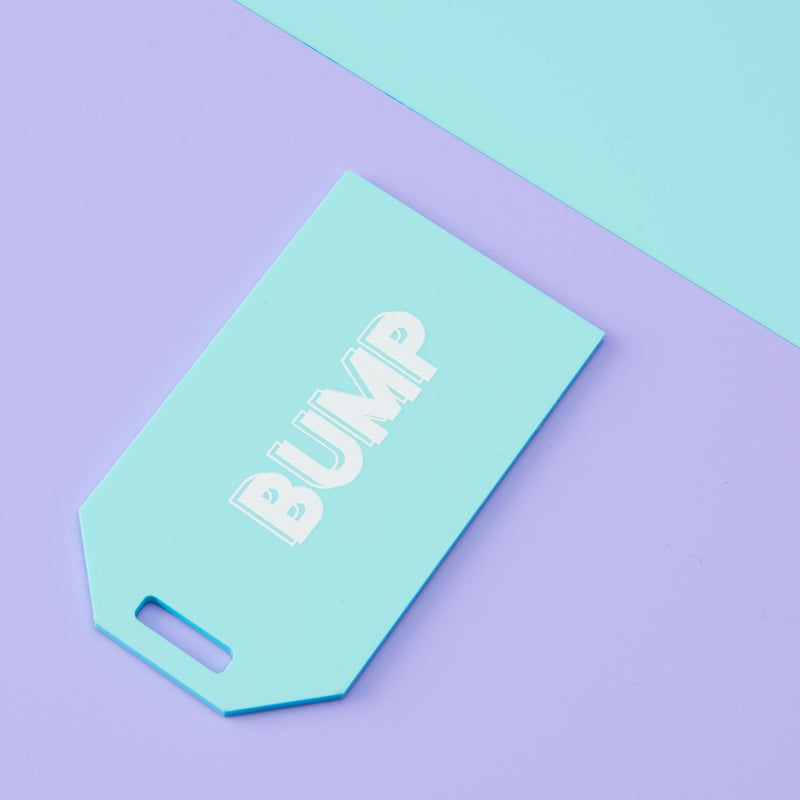 Playful Pastels Name Tag