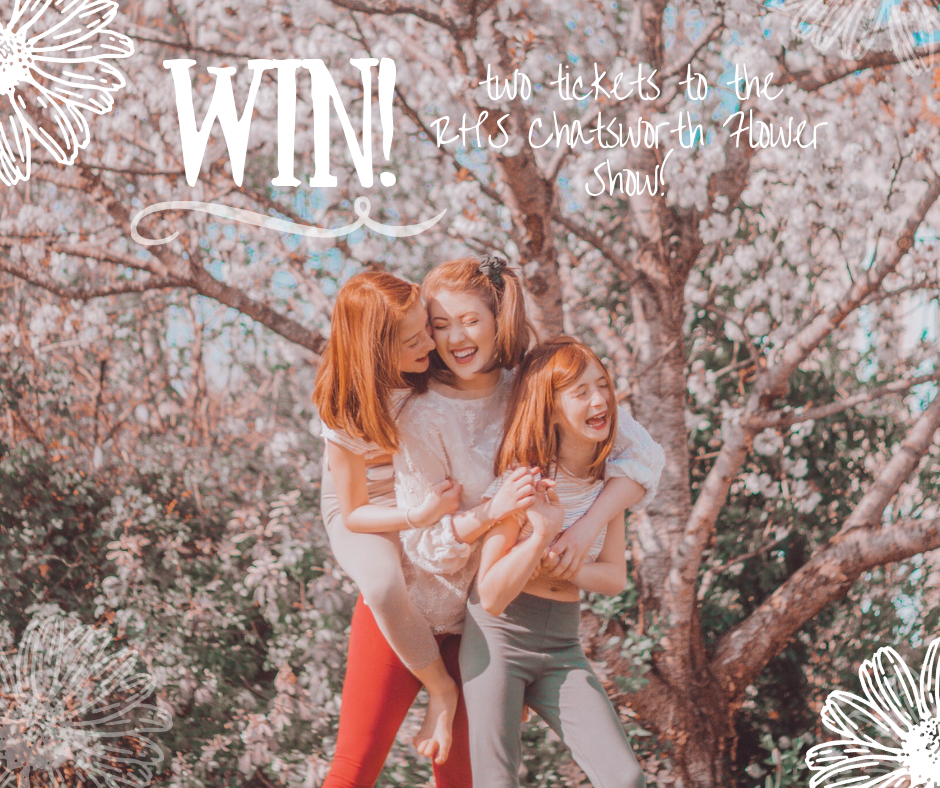 Celebrate the Summer with Love Leggings - Win two tickets to the prestigious RHS Chatsworth Flower Show!