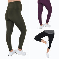 Full length, 7/8s and cropped maternity sports leggings
