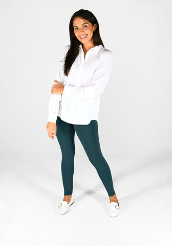 Everyday Classic Petrol Blue Leggings