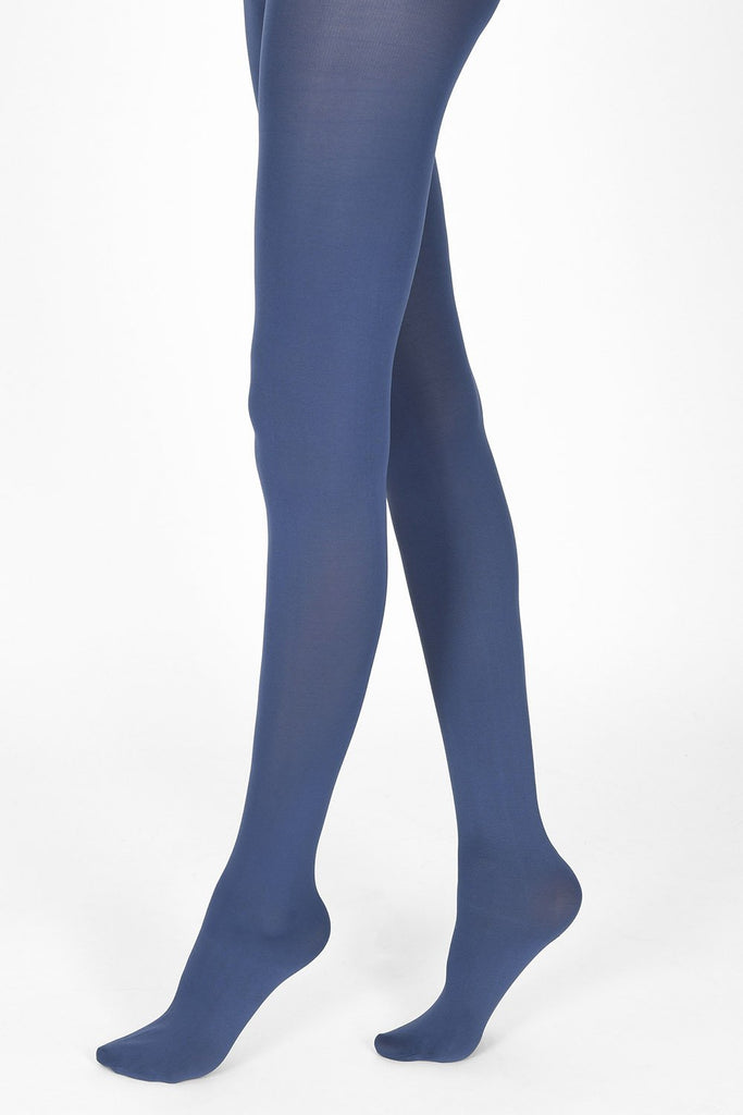 infinity blue tights 100 denier 1