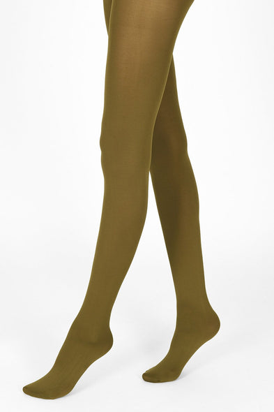 olive green tights 100 denier 1