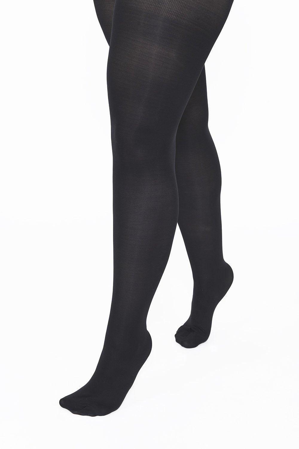 Plus Size Black 60 Denier Tights