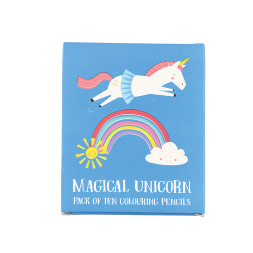 Magical Unicorn Colouring Pencils