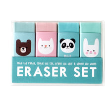 Load image into Gallery viewer, Miko and Friends Erasers (Set of 4)