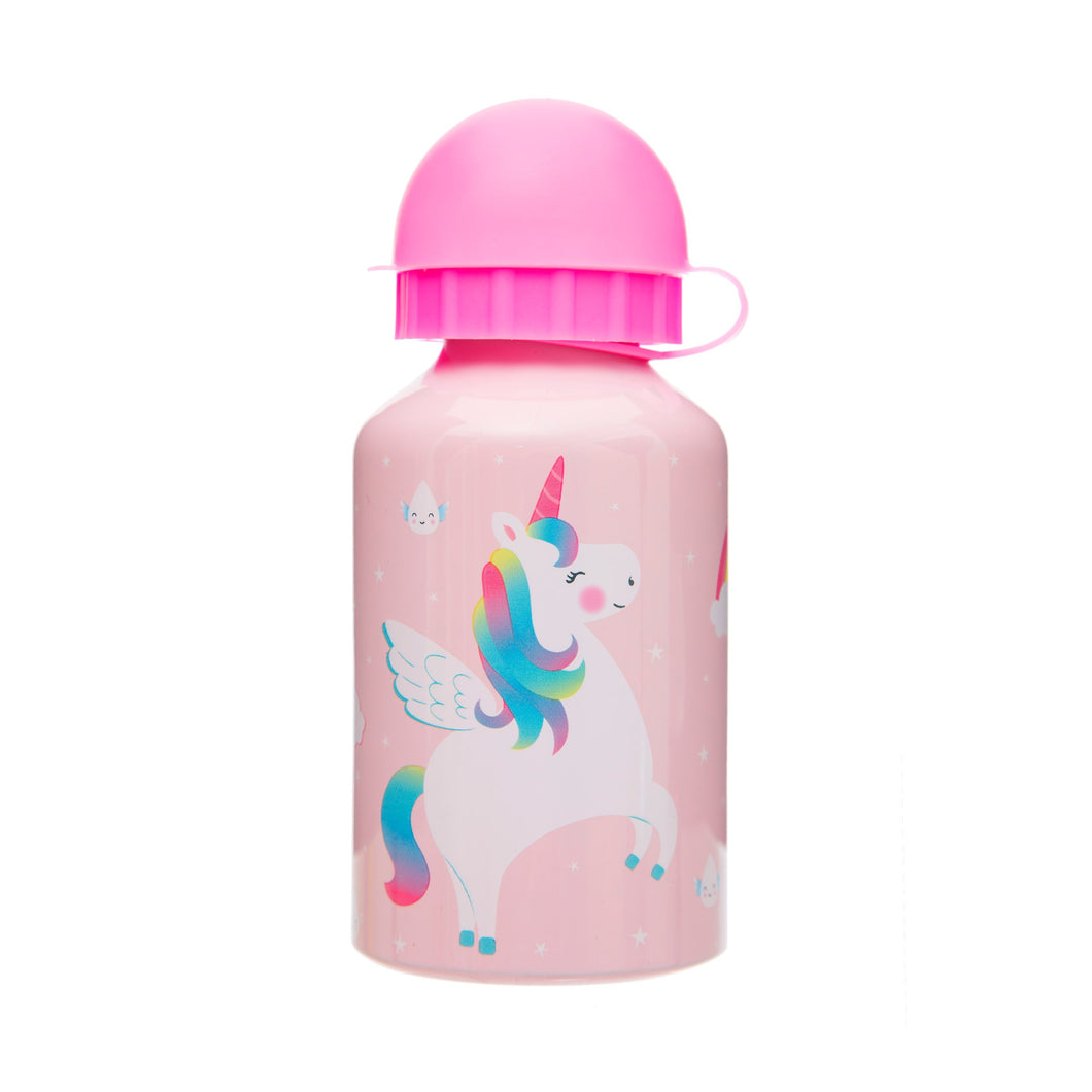 Rainbow Unicorn Kids' Water Bottle