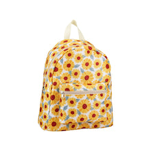 Load image into Gallery viewer, Sunflowers Floral Backpack