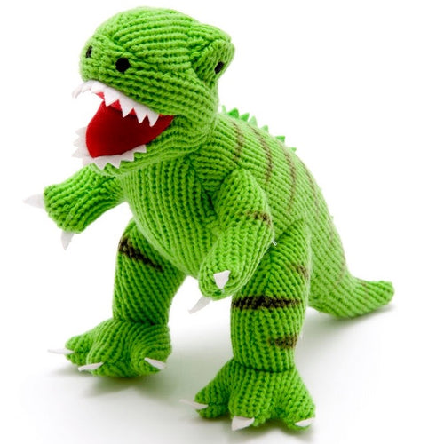 Knitted T Rex