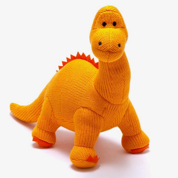 Orange Diplodocus Rattle