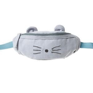 Blue Mouse Bum Bag