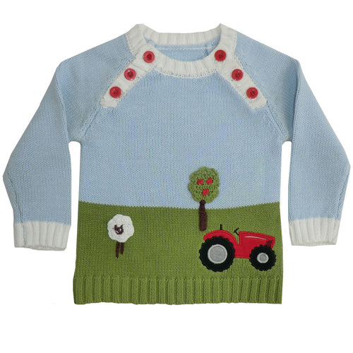 Farmyard Knitted Jumper