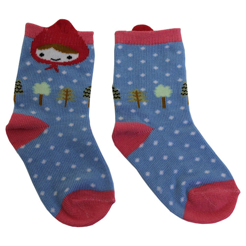 Red Ridinghood Socks