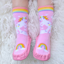 Load image into Gallery viewer, Unicorn Moccasins